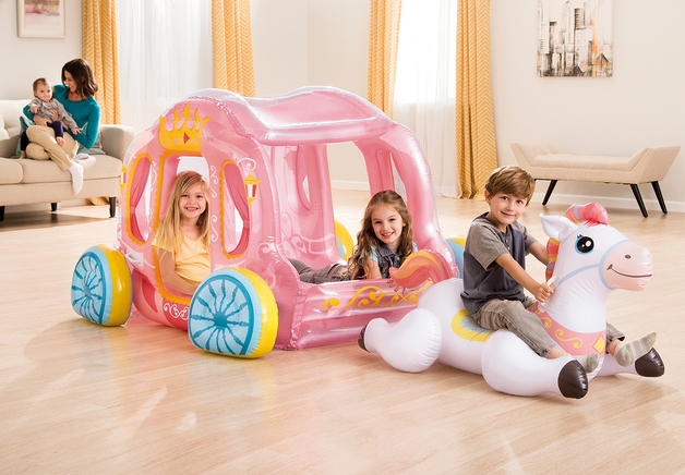 Intex: Inflatable princess Carriage