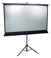 "Brateck 65"" Tripod Portable Projector Screen (16:9 ratio) Black"