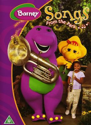Barney - Songs From The Park on DVD