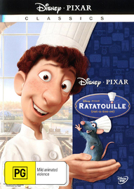 Ratatouille (New Packaging) on DVD image