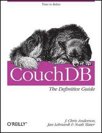CouchDB: The Definitive Guide by J.Chris Anderson image