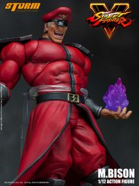 Street Fighter: 1/12 M. Bison - Articulated Figure