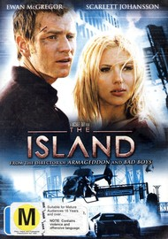 The Island on DVD image