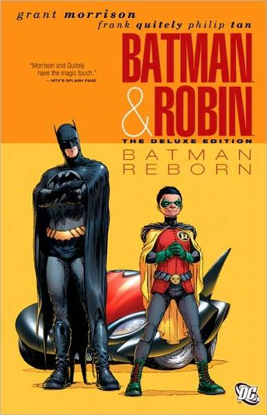Batman & Robin, Volume 1 : Batman Reborn by Grant Morrison image