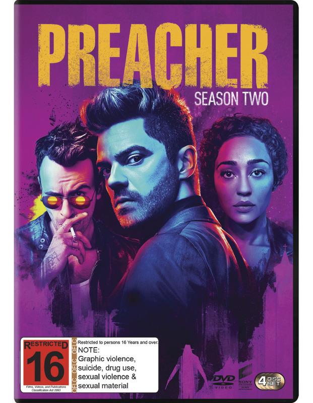 Preacher Season 2 on DVD
