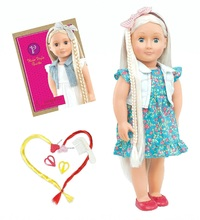 """Our Generation: 18"""" Hairgrow Doll - Pearl"""