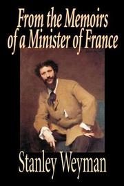 From the Memoirs of a Minister of France by Stanley J Weyman image