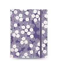 Filofax: A5 Impressions Notebook - Purple + White
