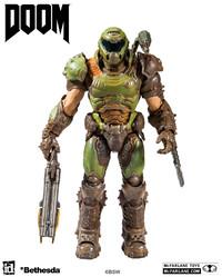 "Doom: Doom Slayer (Classic) - 7"" Articulated Figure image"