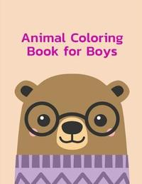 Animal Coloring Book for Boys by Harry Blackice