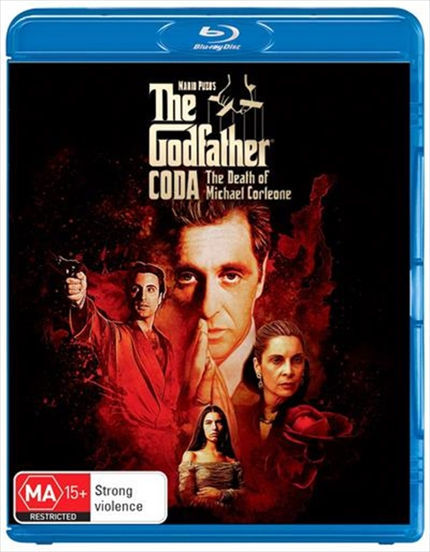 The Godfather Coda: The Death Of Michael Corleone on Blu-ray