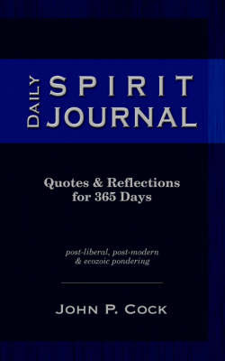 Daily Spirit Journal by John P. Cock image