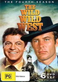 The Wild Wild West - Season 4 (6 Disc Set) on DVD
