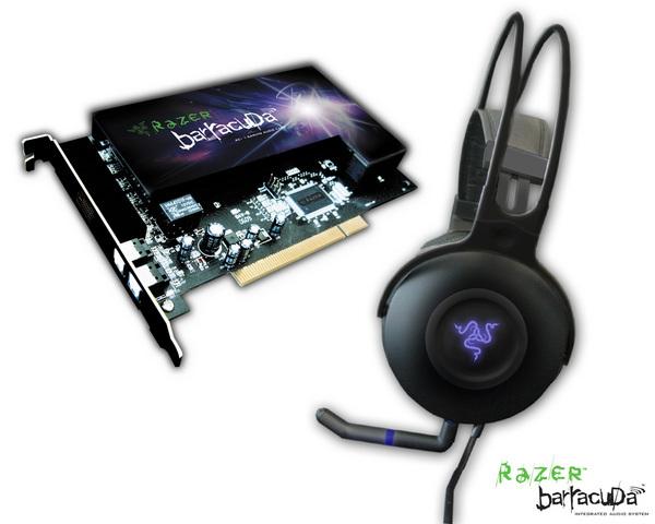 Razer Barracuda Sound Card & Headphones