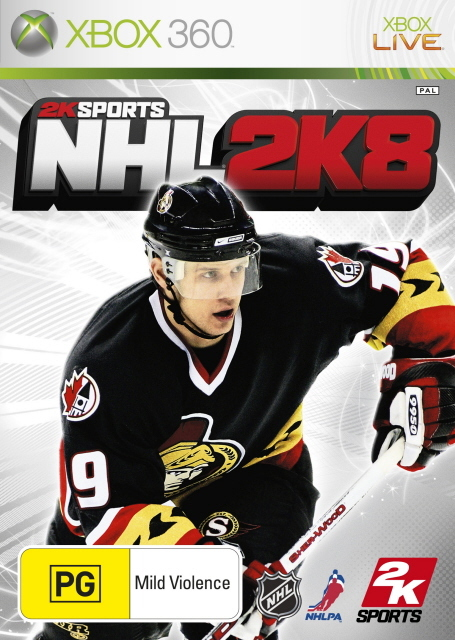 NHL 2K8 for Xbox 360