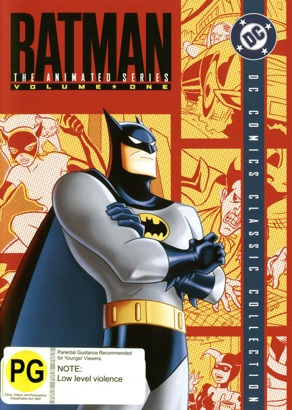 Batman - The Animated Series: Complete Season 1 Volume 1 (4 Disc Set) on DVD