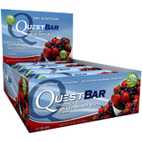Quest Nutrition - Quest Bar Box of 12 (Mixed Berry Bliss)