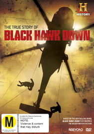 The True Story Of Black Hawk Down on DVD