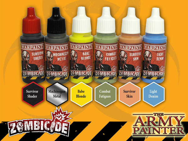 Army Painter Warpaints Zombicide: Survivor Set image