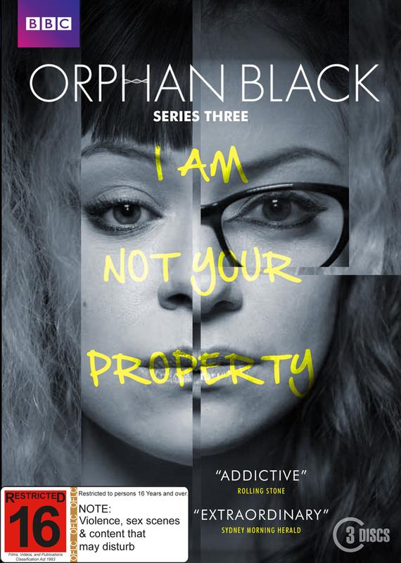 Orphan Black Season 3 on DVD