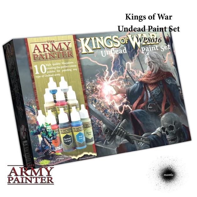 Army Painter Warpaints Kings of War Undead Paint Set