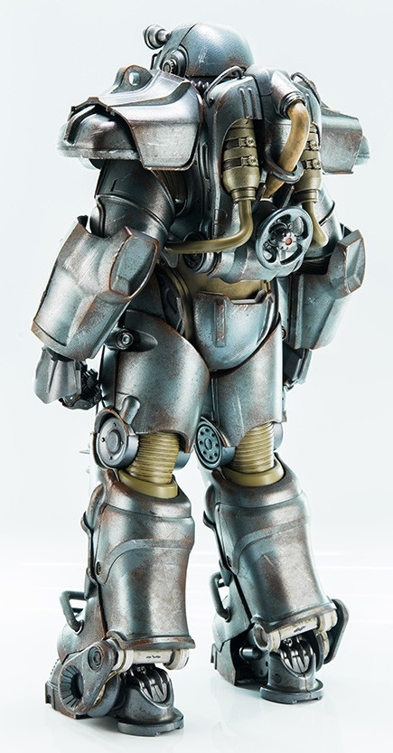 1 6 Scale T 60 Power Armor Collectible Figure At Mighty