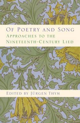 Of Poetry and Song by Jurgen Thym