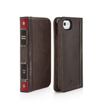 Twelve South BookBook for iPhone SE/5/5S (Brown) image