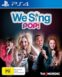 We Sing Pop! for PS4