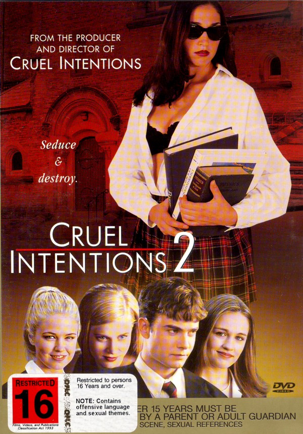Cruel Intentions 2 on DVD image