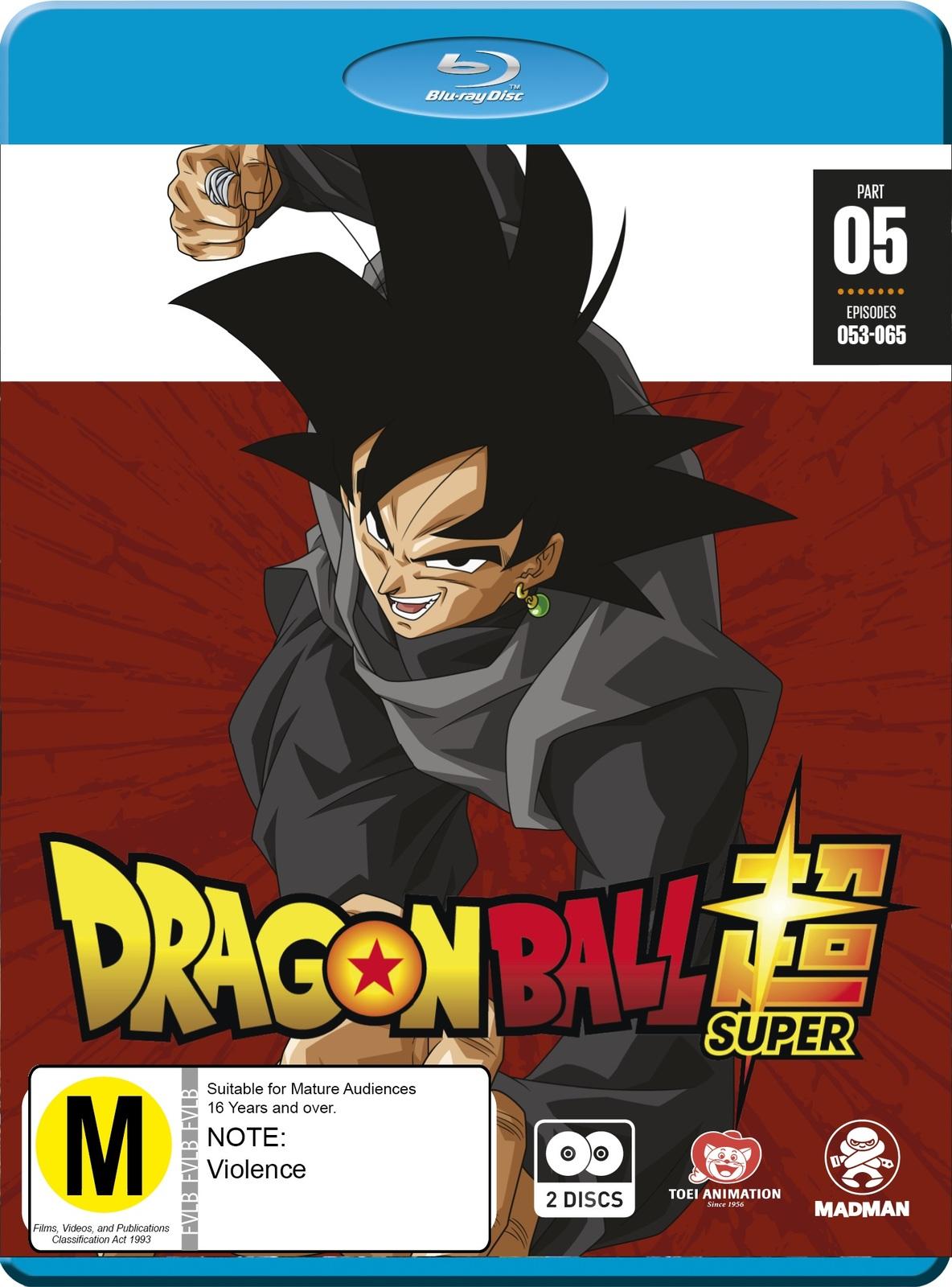 Dragon Ball Super Part 5 (eps 53-65) on Blu-ray image