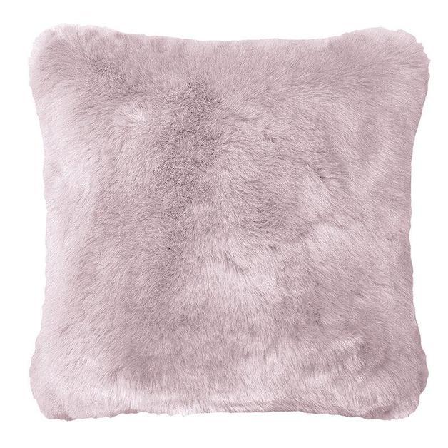 Bambury: Faux Fur Cushion - Lilac (50 x 50cm)