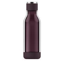 Asobu: Inner Peace Glass Water Bottle (Burgundy)