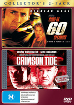 Gone In 60 Seconds (2000) / Crimson Tide - Collector's 2-Pack (2 Disc Set) on DVD