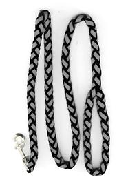 Pawise: Dog Reflective Leash - Large/Black (15mm x 120cm)