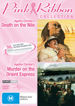 Death On The Nile / Murder On The Orient Express - Pink Ribbon Collection (2 Disc Set) on DVD