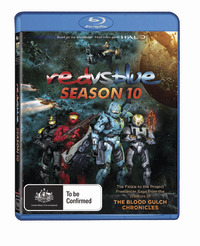 Red vs. Blue - Season Ten on Blu-ray