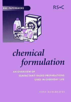 Chemical Formulation by Anthony E. Hargreaves