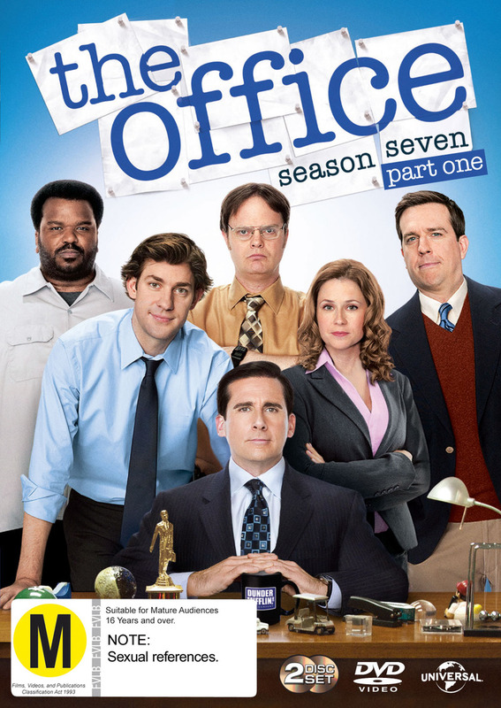 The Office (US) Season 7 Part 1 on DVD