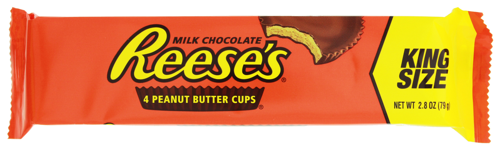 Reese's Peanut Butter Cups 79g (King Size 4 Pack) image