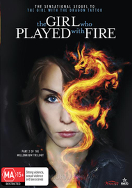 The Girl who Played with Fire on DVD