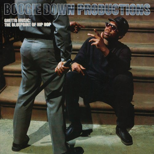 Ghetto Music The Blueprint Of Hip Hop (LP) by Boogie Down Productions image