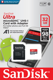 32GB SanDisk Ultra Micro SDHC image