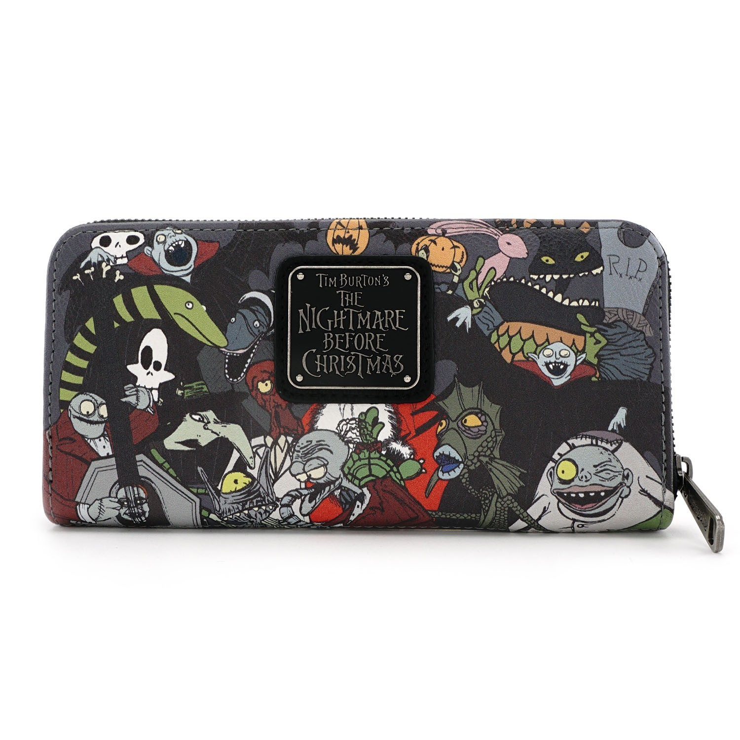 Loungefly Disney Nightmare Before Christmas Zip Around Wallet Images ...
