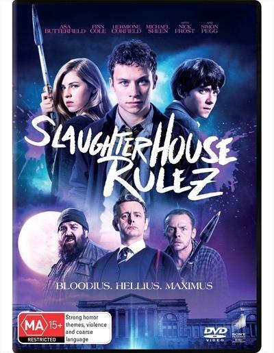 Slaughterhouse Rulez on DVD