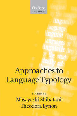 Approaches to Language Typology image