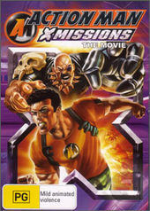 Action Man X Missions With Bonus (Binoculars) on DVD