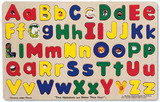 Melissa & Doug: Wooden Alphabet Puzzle - Upper & Lower Case