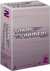 Transformers - Collection 2 (Series 2.1) (3 Disc Box Set) on DVD