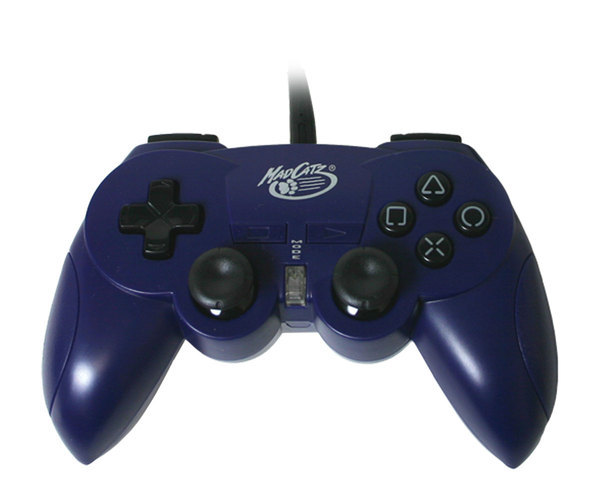 Mad Catz Hand Controller - Blue for PlayStation 2
